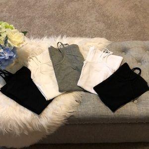 Forever 21 cotton camis bundle